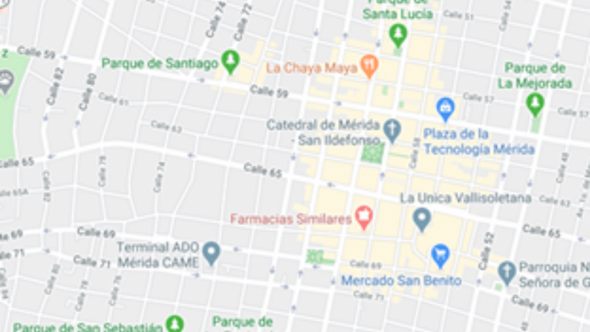 Where is Mérida Mexico on the Map?