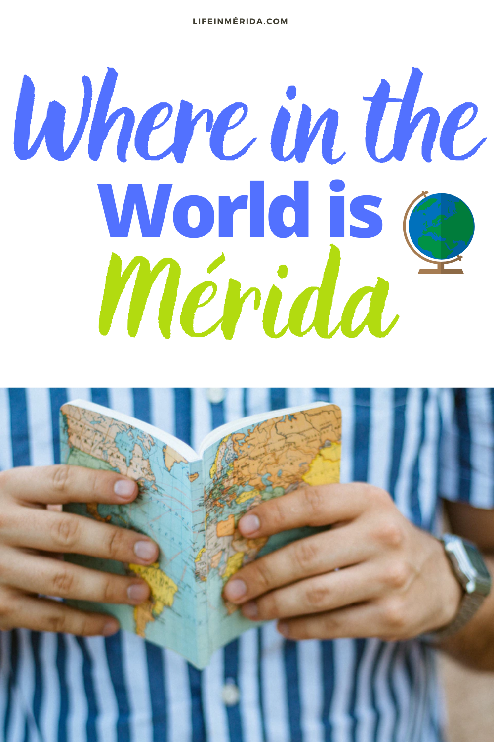 where is mérida mexico on the map 1