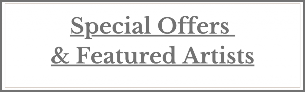 Special Offers & Featured Artists